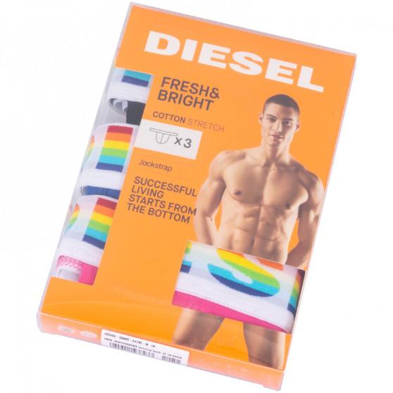 3PACK pánské jocksy Diesel vícebarevné (00SH9I-0QAXR-E4795)
