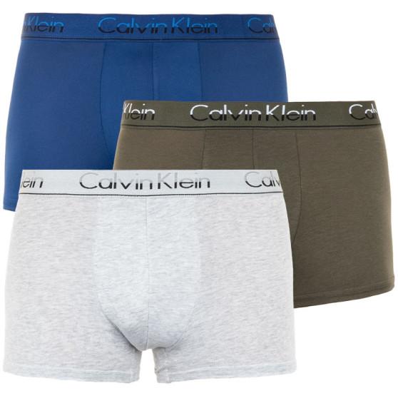 3PACK pánské boxerky Calvin Klein vícebarevné (NB1452A-JCP)
