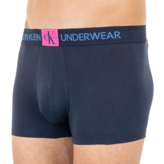 Pánské boxerky Calvin Klein tmavě modré (NB1678A-0PP)