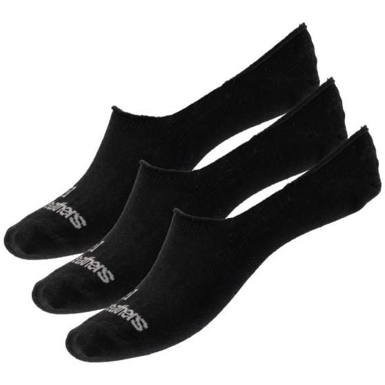 3PACK ponožky Horsefeathers černé (AM045A)