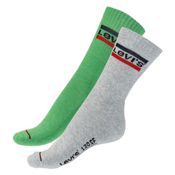 2PACK ponožky Levis vícebarevné (982003001 327)