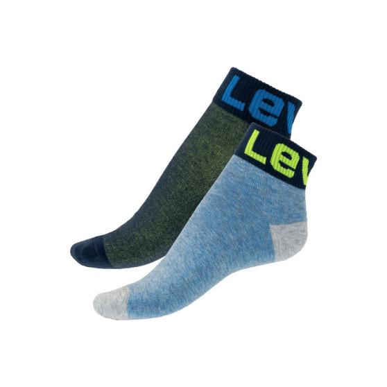 2PACK ponožky Levis vícebarevné (993025001 815)