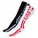 2PACK ponožky Levis vícebarevné (993018001 213)