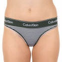 Dámská tanga Calvin Klein vícebarevná (F3786E-MDT)