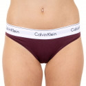 Dámské kalhotky Calvin Klein vínové (F3787E-MDO)