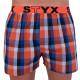 3PACK pánské trenky Styx sportovní guma vícebarevné (B7100406)