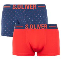 2PACK pánské boxerky S.Oliver vícebarevné (26.899.97.5600.17G1)
