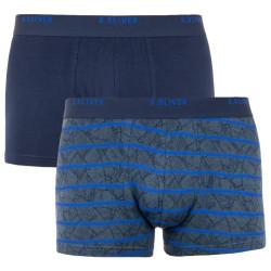 2PACK pánské boxerky S.Oliver modré nadrozměr (26.899.97.5621.17A2)
