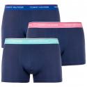 3PACK pánské boxerky Tommy Hilfiger tmavě modré (1U87903842 040)