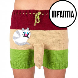 Ručně pletené trenky Infantia (PLET107)