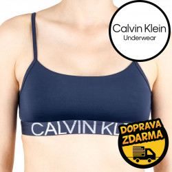Dámská podprsenka Calvin Klein tmavě modrá (QF5181E-8SB)