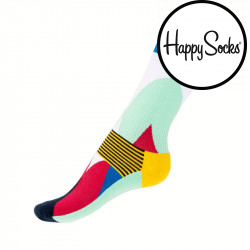 Ponožky Happy Socks Athletic blocked (ATBLO27-7000)