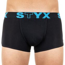 Pánské boxerky Styx basket sportovní guma černé (Z961)
