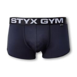 Pánské boxerky Styx funkční sportovní guma černé (Z740)