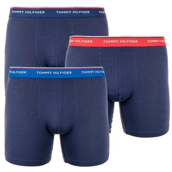 3PACK pánské boxerky Tommy Hilfiger tmavě modré (UM0UM01643 009)