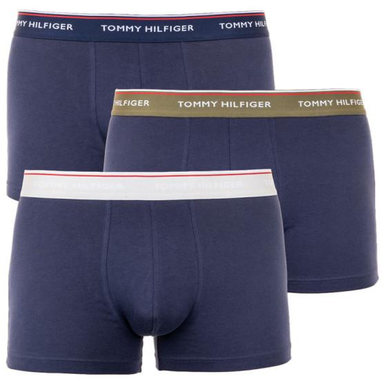 3PACK pánské boxerky Tommy Hilfiger tmavě modré (UM0UM01642 0UP)