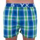 3PACK pánské trenky Styx sportovní guma vícebarevné (B7262730)