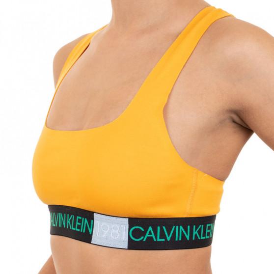 Dámská podprsenka Calvin Klein oranžová (QF5577E-1ZK)