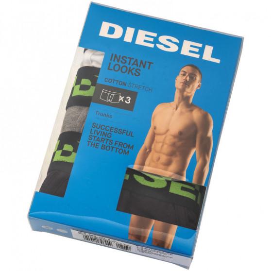 3PACK pánské boxerky Diesel vícebarevné (00ST3V-0WAVB-E4912)