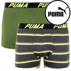 2PACK pánské boxerky Puma vícebarevné (691001001 998)
