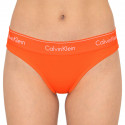 Dámské kalhotky Calvin Klein oranžové (QF1671E-6TQ)