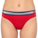 Dámské kalhotky Tommy Hilfiger červené (UW0UW02026 611)
