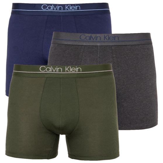 3PACK pánské boxerky Calvin Klein vícebarevné (NB2008A-NXB)