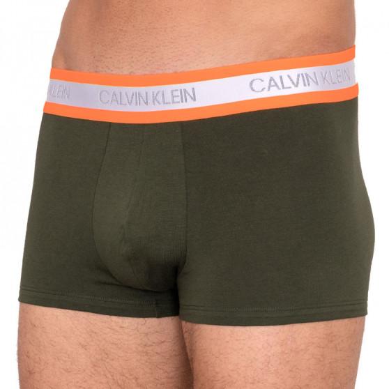 Pánské boxerky Calvin Klein tmavě zelené (NB2124A-FDX)