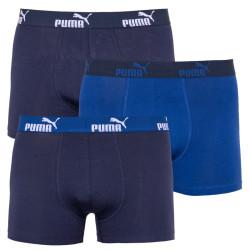 3PACK pánské boxerky Puma modré (681005001 609)