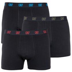 3PACK pánské boxerky CR7 černé (8100-49-660)