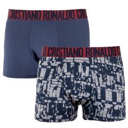 3PACK pánské boxerky CR7 vícebarevné (8502-49-431)