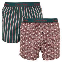 2PACK pánské trenky Calvin Klein vícebarevné (NB1691A-VRT)