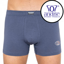 Pánské boxerky Andrie světle modré (PS 5182d)