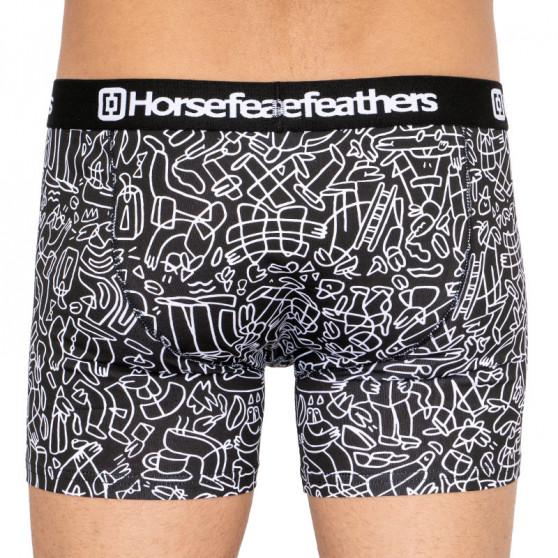 Pánské boxerky Horsefeathers Sidney doodle (AM070C)