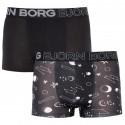 2PACK pánské boxerky Bjorn Borg černé (1941-1069-90651)