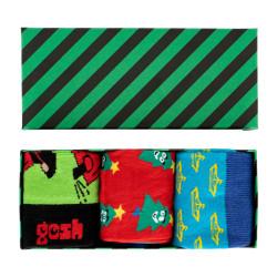 3PACK ponožky Gosh v dárkovém balení (GP032022)