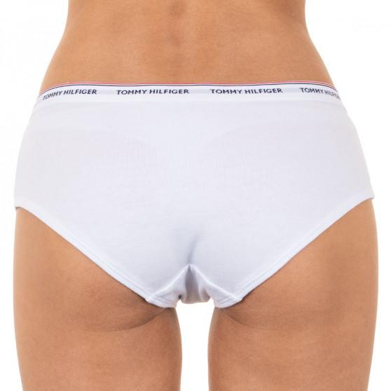 3PACK dámské kalhotky Tommy Hilfiger bílé (UW0UW00010 100)
