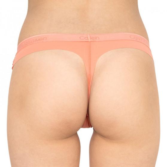 2PACK dámská tanga Calvin Klein vícebarevná (QD3695E-CDJ)