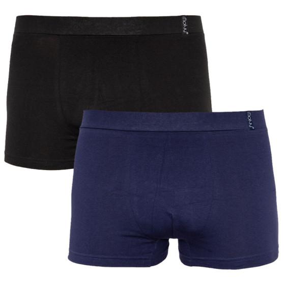 2PACK Pánské boxerky Molvy vícebarevné (KP-070-BEU)