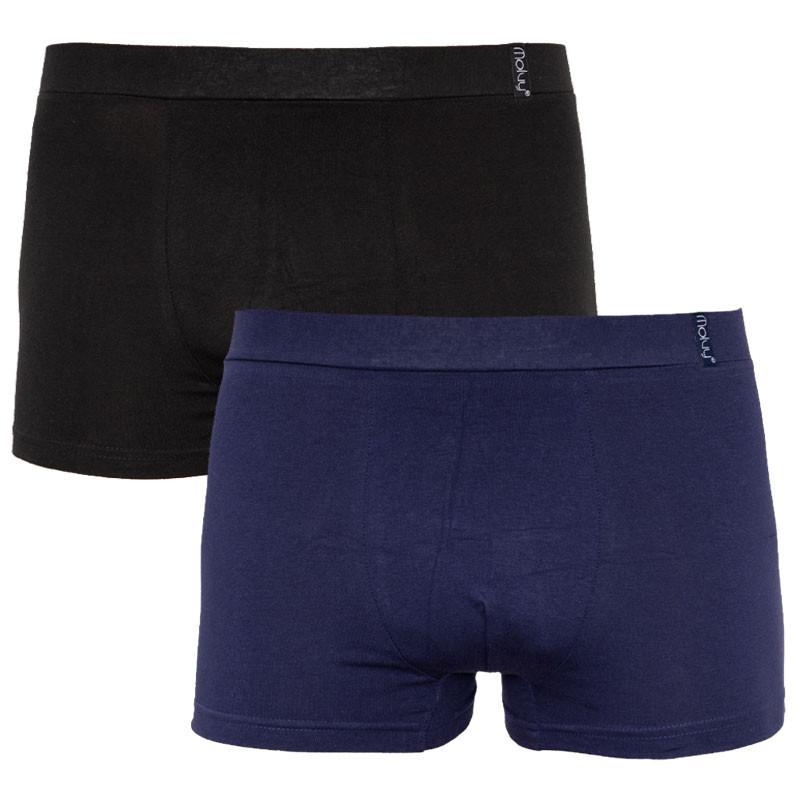 2PACK Pánské boxerky Molvy vícebarevné (KP-070-BEU) L