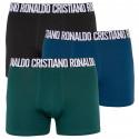 3PACK pánské boxerky CR7 vícebarevné (8100-49-2719)