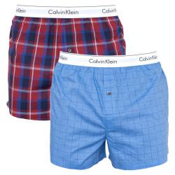 2PACK pánské trenky Calvin Klein vícebarevné (NB1396A-ZVX)