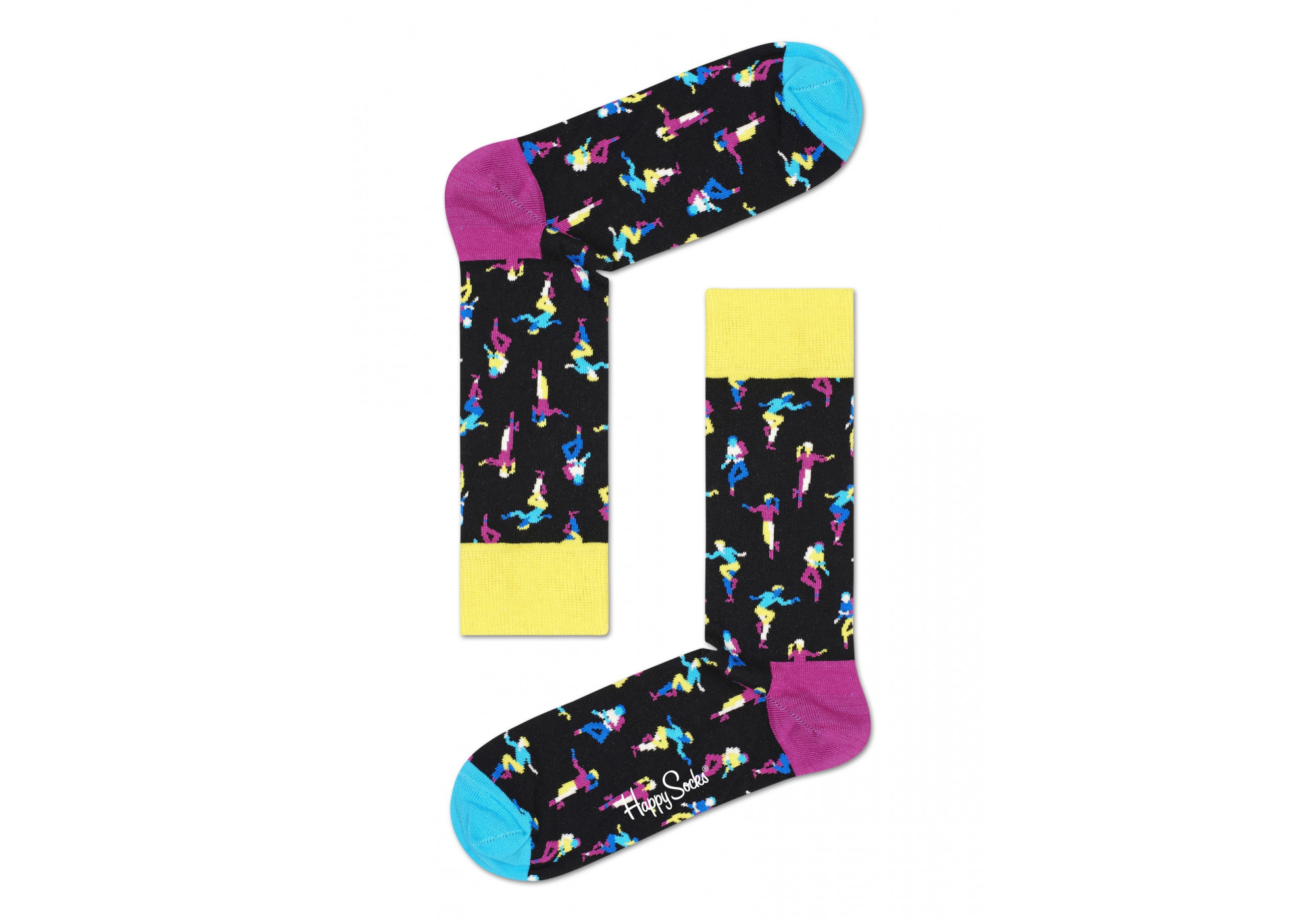 Ponožky Happy Socks Step Dance (SSTE01-9300) M