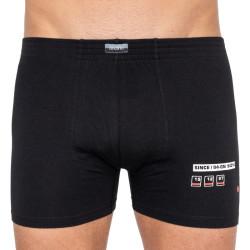 Pánské boxerky Andrie černé (PS 5254a)