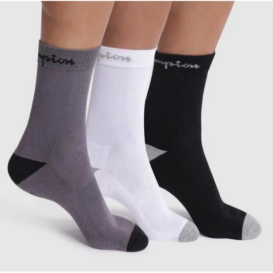 3PACK ponožky Champion vícebarevné (Y082C)