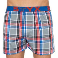 Pánské trenky Styx sportovní guma vícebarevné (B807)