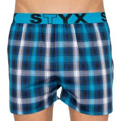 Pánské trenky Styx sportovní guma vícebarevné (B801)