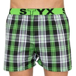 Pánské trenky Styx sportovní guma vícebarevné (B802)