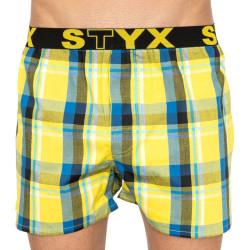 Pánské trenky Styx sportovní guma vícebarevné (B805)