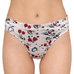 Dámská tanga Tommy Hilfiger růžová (UW0UW02021 142)